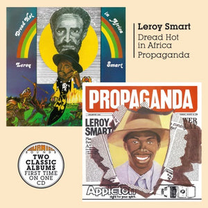 Leroy Smart - Dread Hot in Africa + Propaganda - CD Album & Vinyl LP - Secret Records Limited