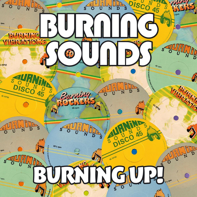 Various - Burning Up - 4CD Album - Secret Records Limited