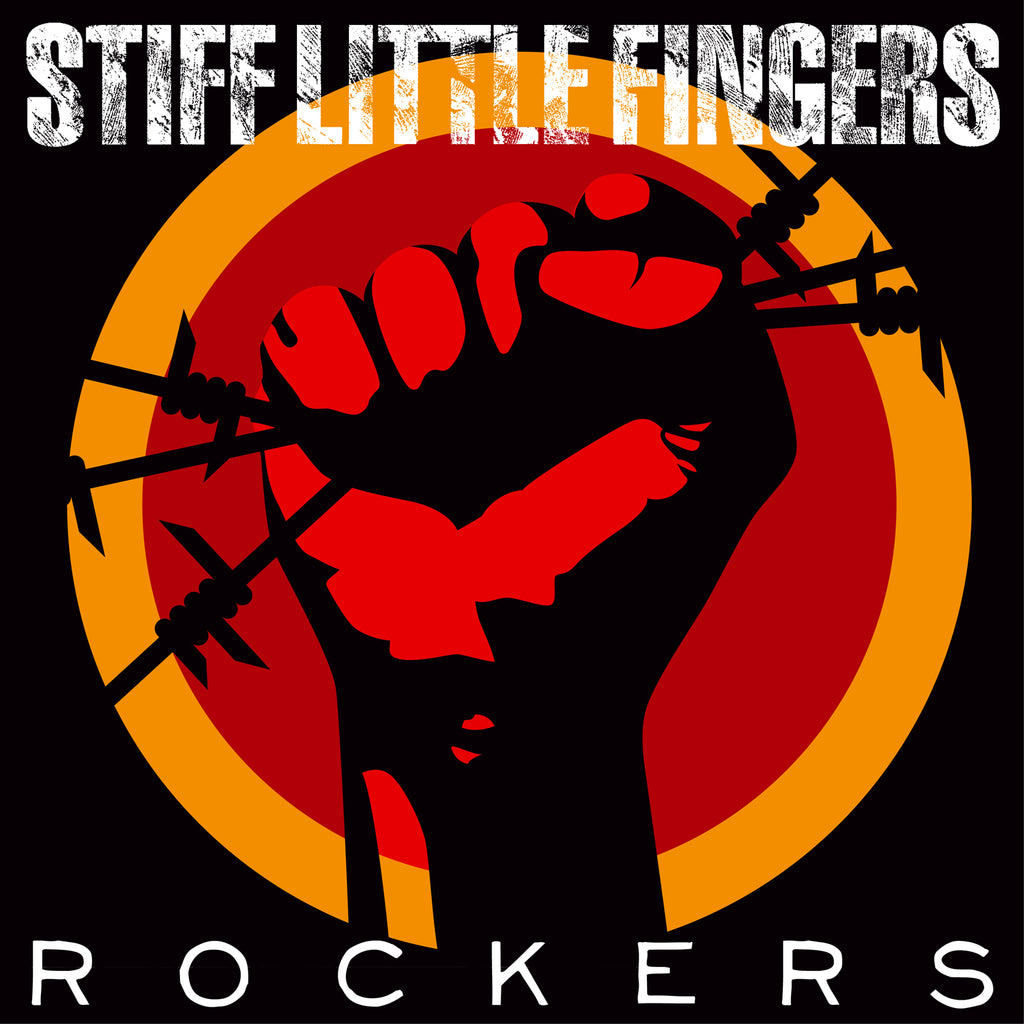 Stiff Little Fingers - Rockers - CD+DVD Album - Secret Records Limited