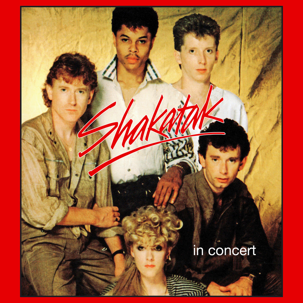 Shakatak - In Concert - Secret Records Limited