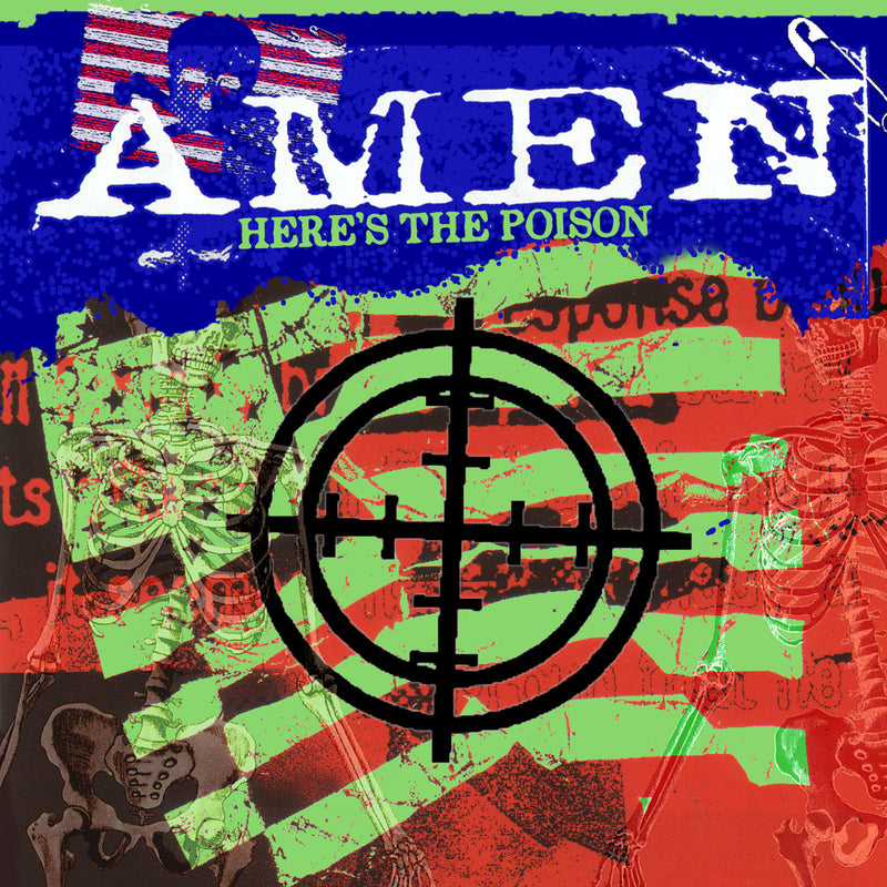Amen - Here's The Poison - CD+DVD Album - Secret Records Limited