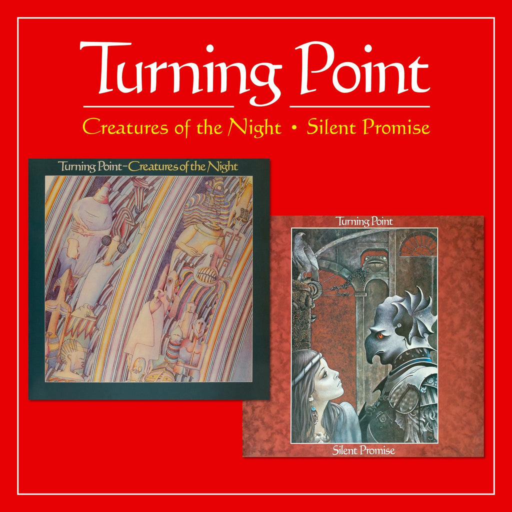 Turning Point - Creatures Of The Night & Silent Promise - 2CD Album - Secret Records Limited