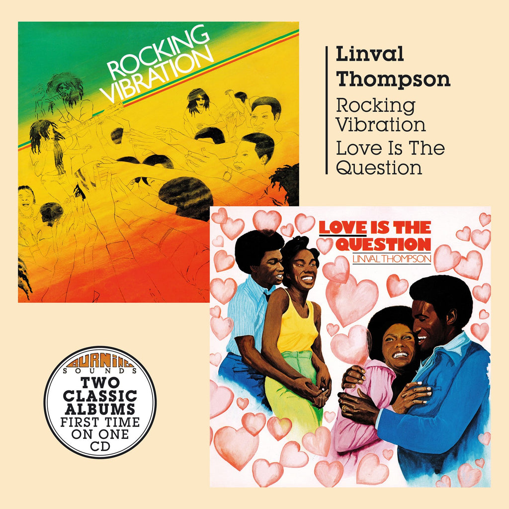 Linval Thompson - Rocking Vibration & Love Is The Question - CD Album - Secret Records Limited