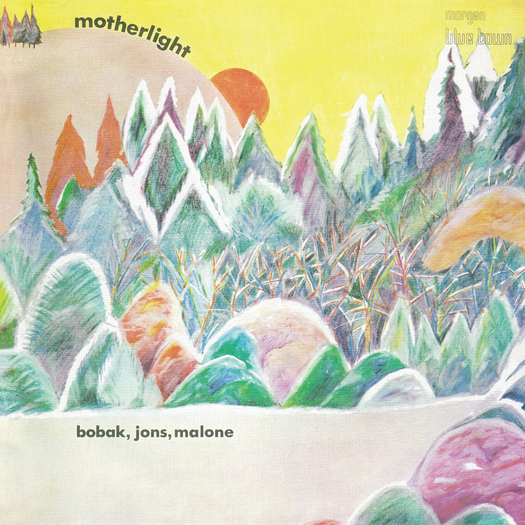 Bobak, Jons, Malone - Motherlight - CD Album - Secret Records Limited