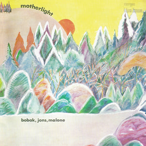 Bobak, Jons, Malone - Motherlight - CD Album & Vinyl LP - Secret Records Limited