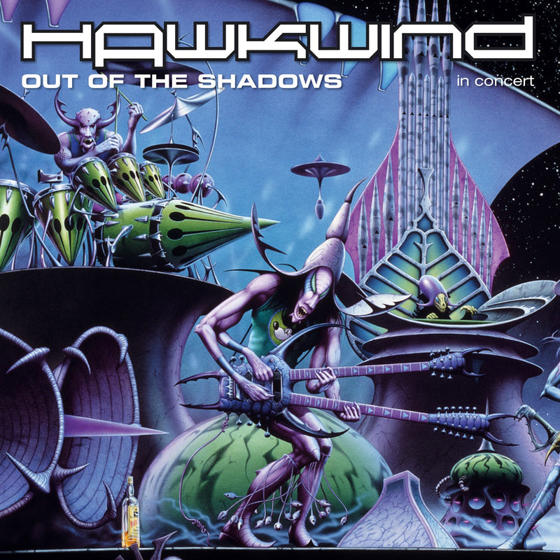 Hawkwind - Out Of The Shadows - CD+DVD Album - Secret Records Limited