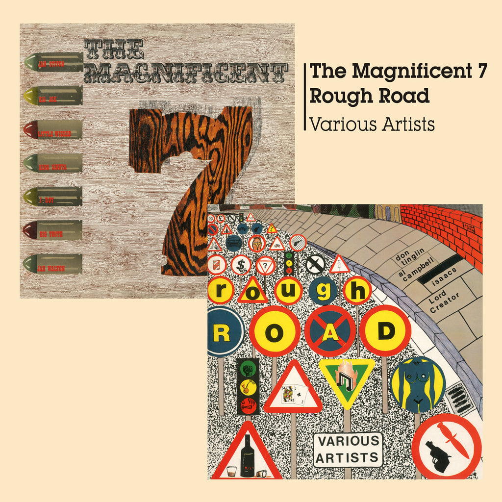Various - The Magnificent 7 & Rough Road - CD+DVD Album - Secret Records Limited