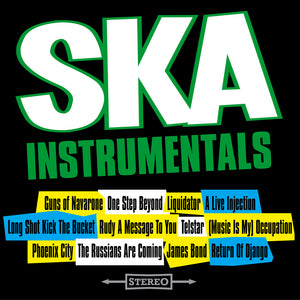 The SKA Allstars - SKA Instrumentals - CD Album - Secret Records Limited