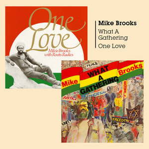 Mike Brooks - What A Gathering + One Love - CD Album - Secret Records Limited