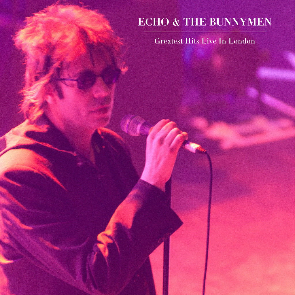 Echo & The Bunnymen - Greatest Hits Live In London - Vinyl LP - Secret Records Limited