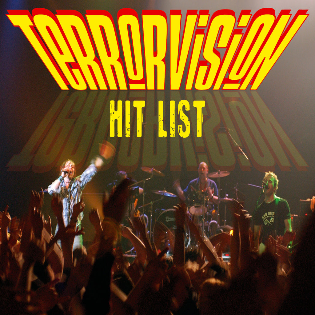 Terrorvision - Hit List - CD+DVD Album - Secret Records Limited