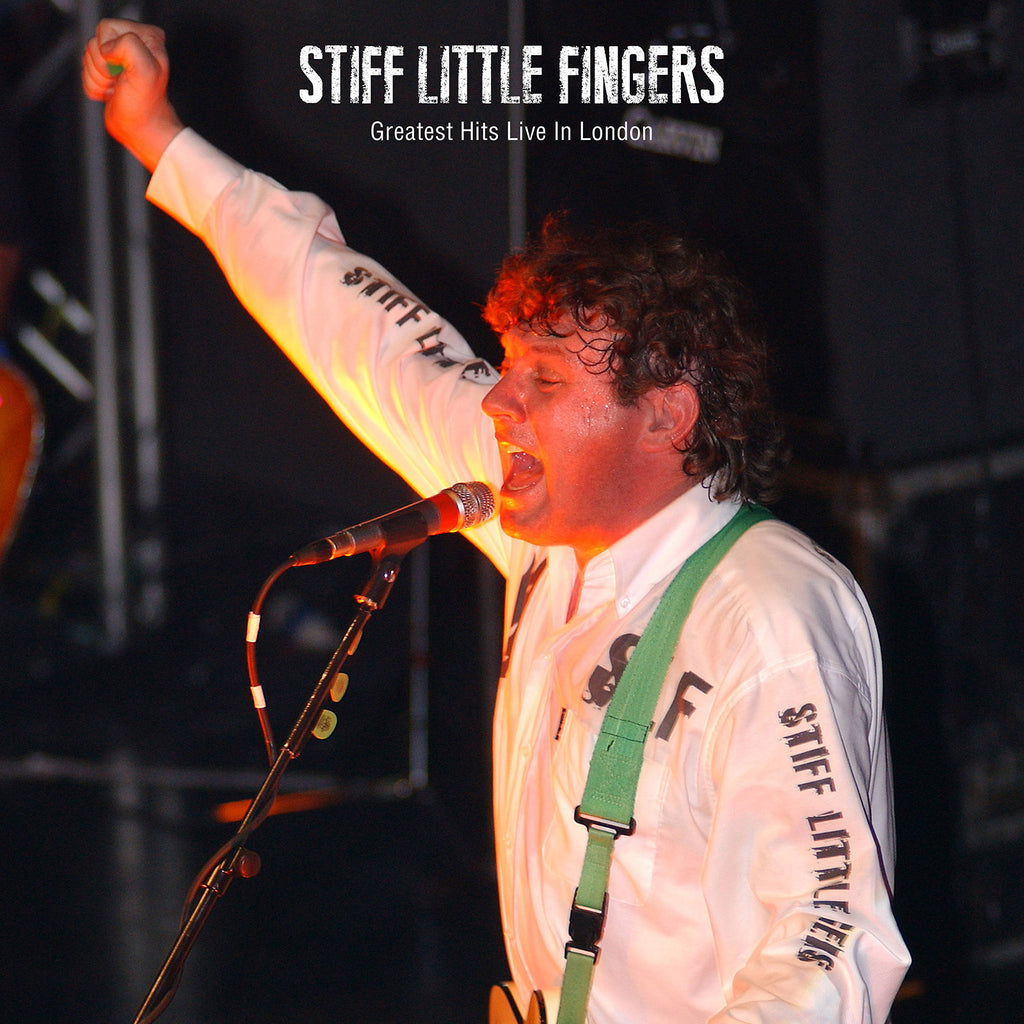 Stiff Little Fingers - Greatest Hits Live In London - Vinyl LP - Secret Records Limited