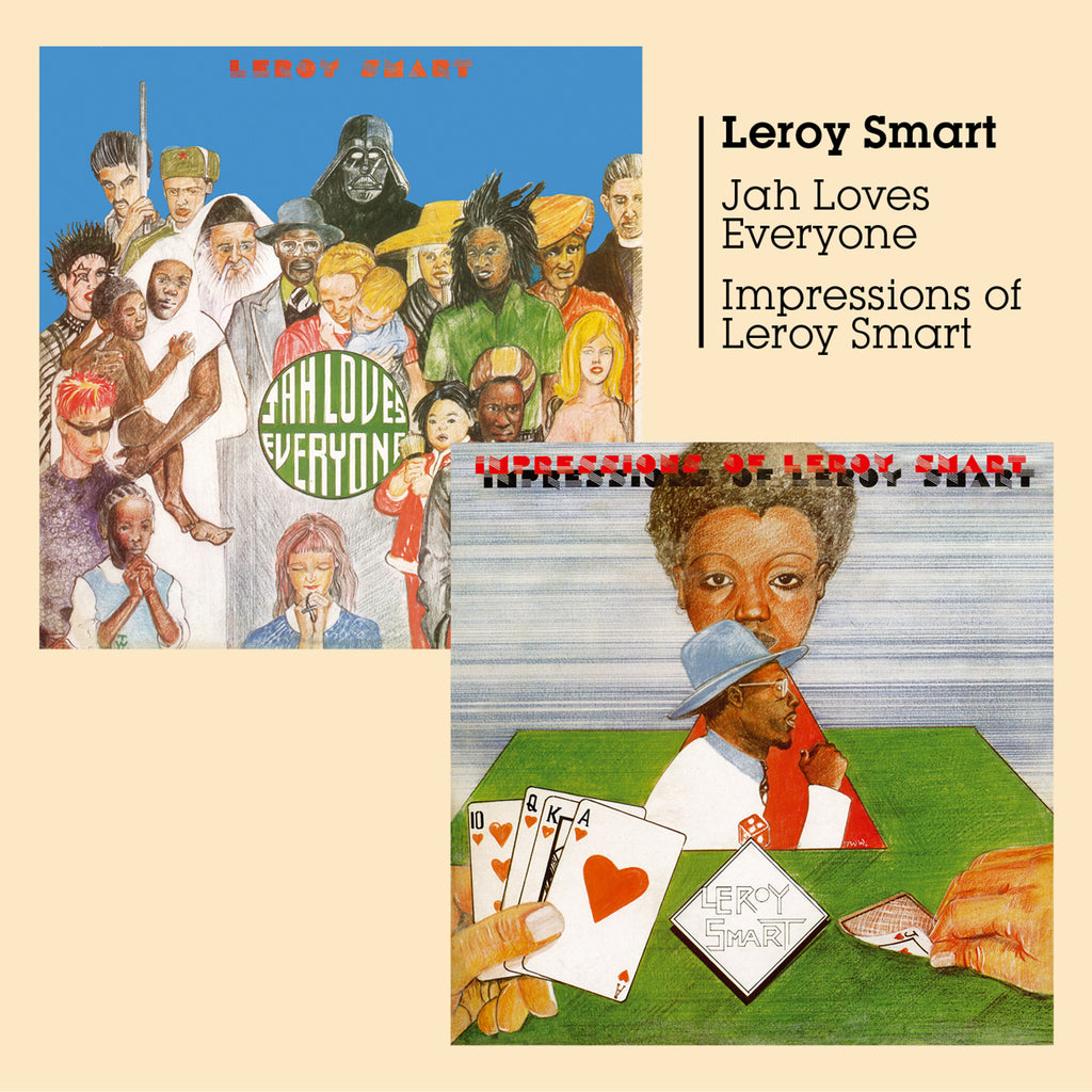 Leroy Smart - Jah Loves Everyone + Impressions - CD Album - Secret Records Limited