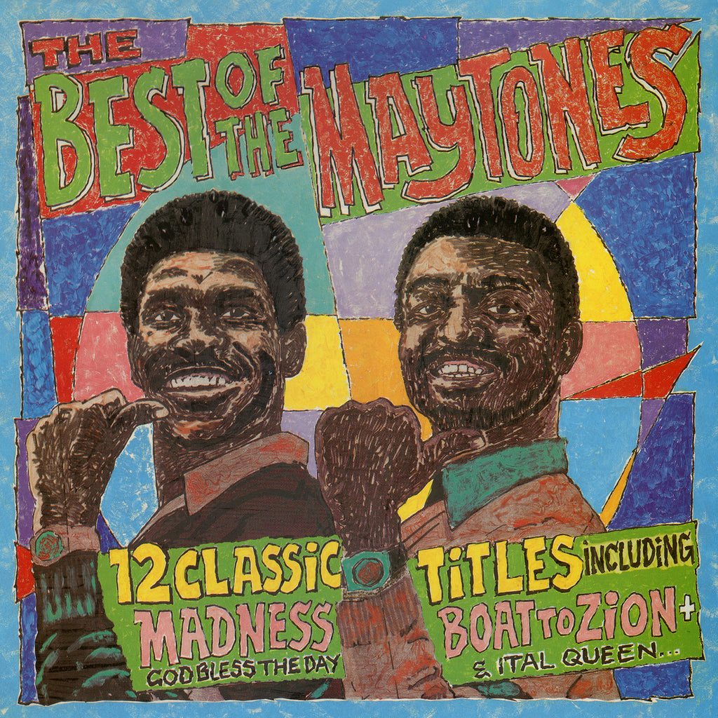 The Maytones - The Best Of The Maytones + 6 Bonus Tracks - CD Album - Secret Records Limited