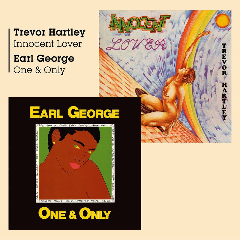 Trevor Hartley & Earl George - Innocent Lover + One & Only - CD Album - Secret Records Limited