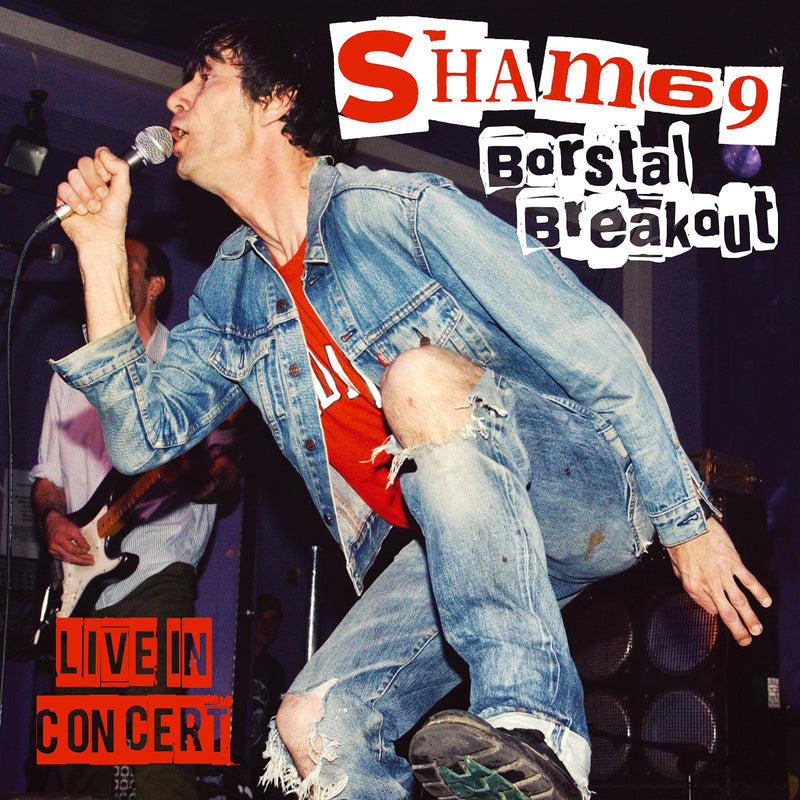 Sham 69 - Borstal Breakout Live in Concert - CD+DVD Album - Secret Records Limited
