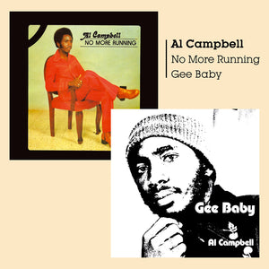 Al Campbell - Gee Baby + No More Running - CD Album - Secret Records Limited