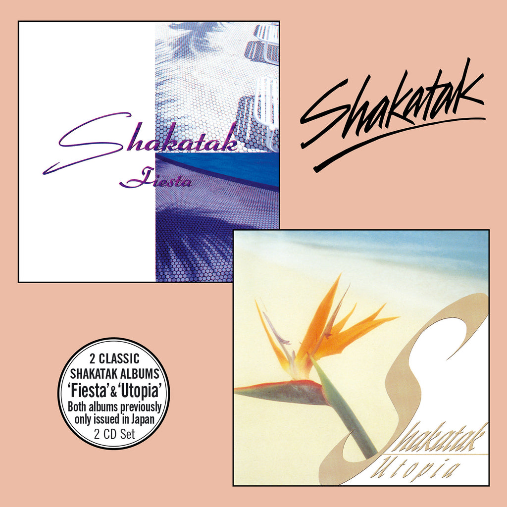 Shakatak - Fiesta + Utopia - Secret Records Limited