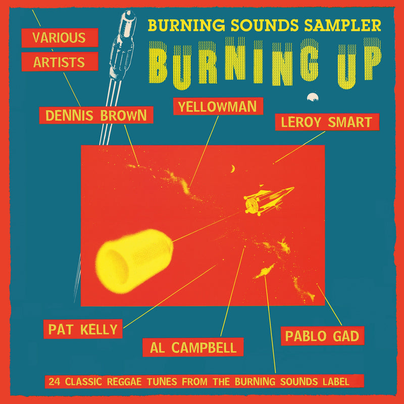 Various - Burning Sounds Sampler Burning Up - CD Album - Secret Records Limited
