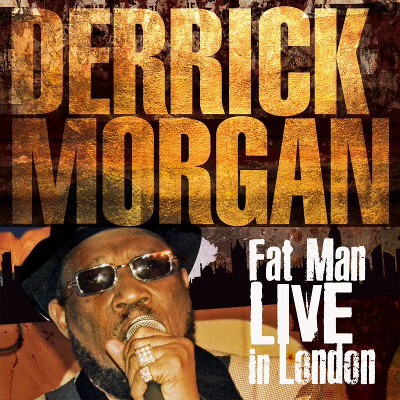 Derrick Morgan - Fat Man Live In London - CD+DVD Album - Secret Records Limited