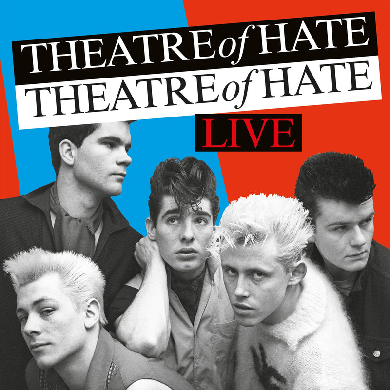 Theatre Of Hate - Live - 2CD Album - Secret Records Limited