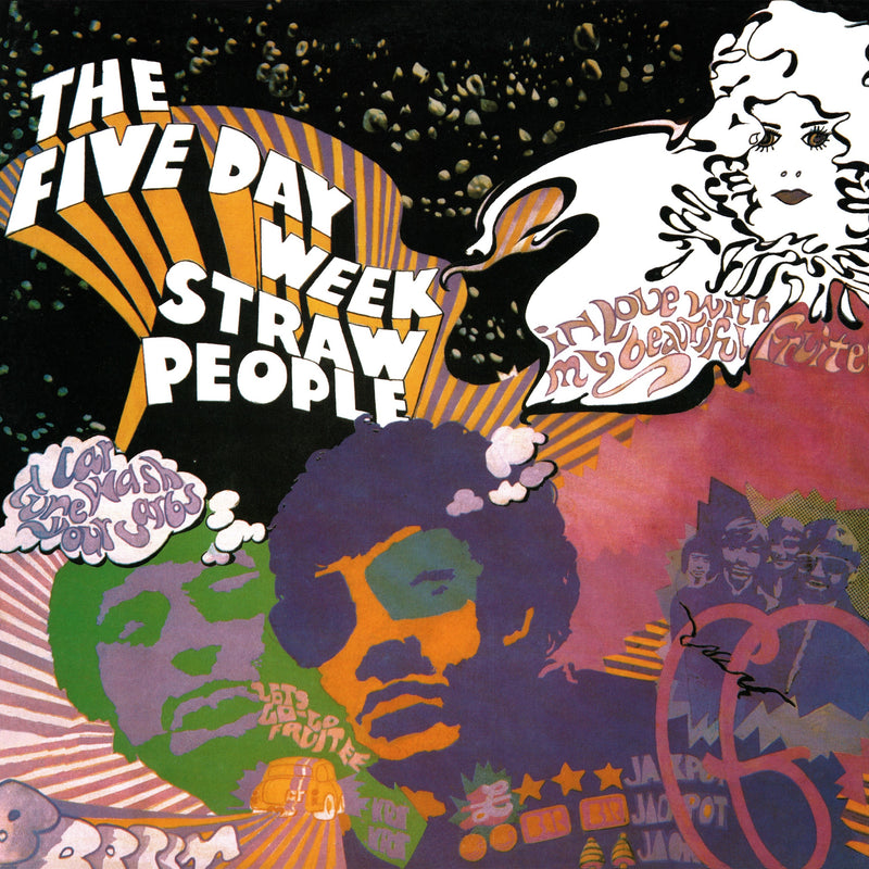 Five Day Week Straw People - Five Day Week Straw People - CD Album & Vinyl LP - Secret Records Limited