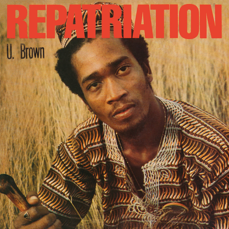 U Brown - Repatriation + Dickie Ranking - Vinyl LP - Secret Records Limited