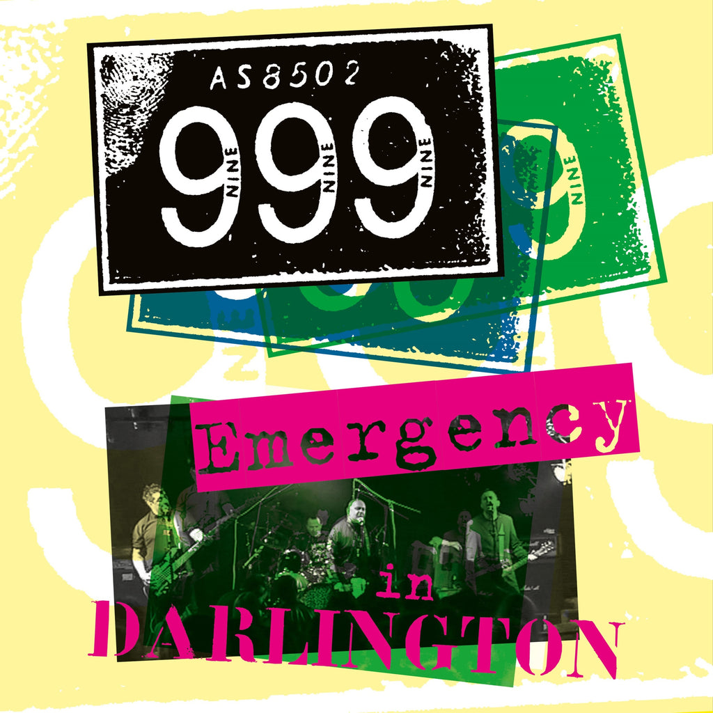 999 - Emergency In Darlington - Secret Records Limited