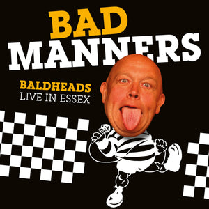 Bad Manners - Baldheads Live In Essex - CD+DVD Album - Secret Records Limited
