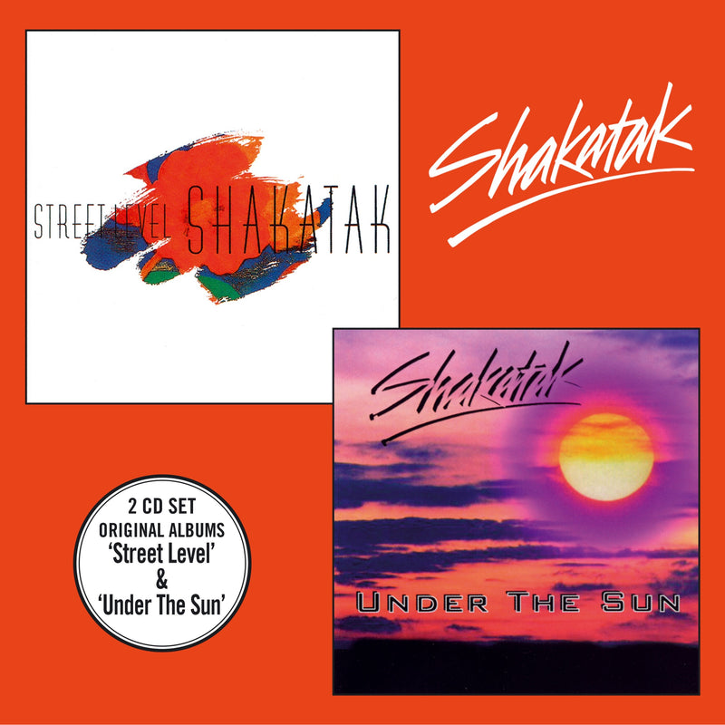 Shakatak - Street Level + Under The Sun - 2CD Album - Secret Records Limited