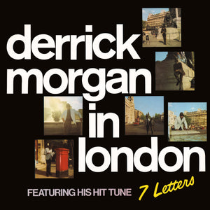 Derrick Morgan - Derrick Morgan In London - CD Album & Vinyl LP - Secret Records Limited