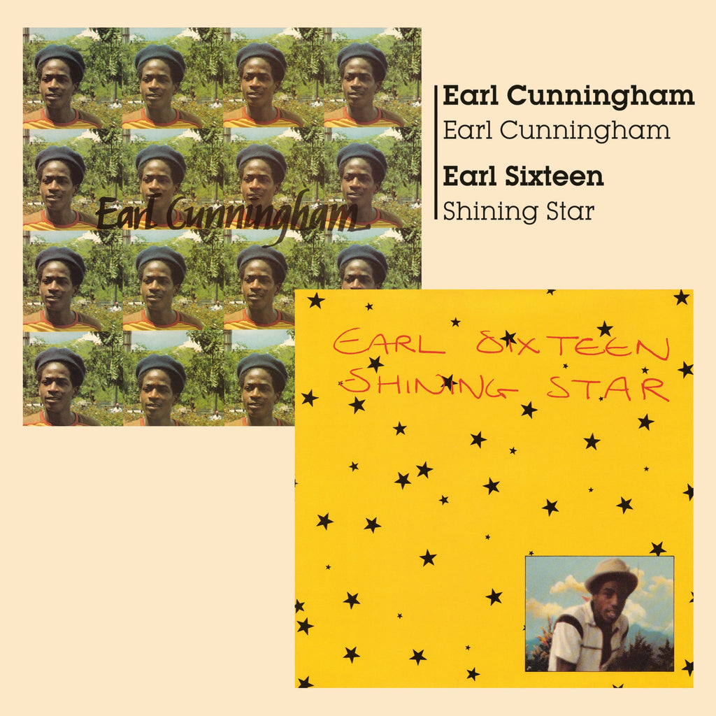 Earl Cunningham + Earl Sixteen - Earl Cunningham + Shining Star - CD Album - Secret Records Limited