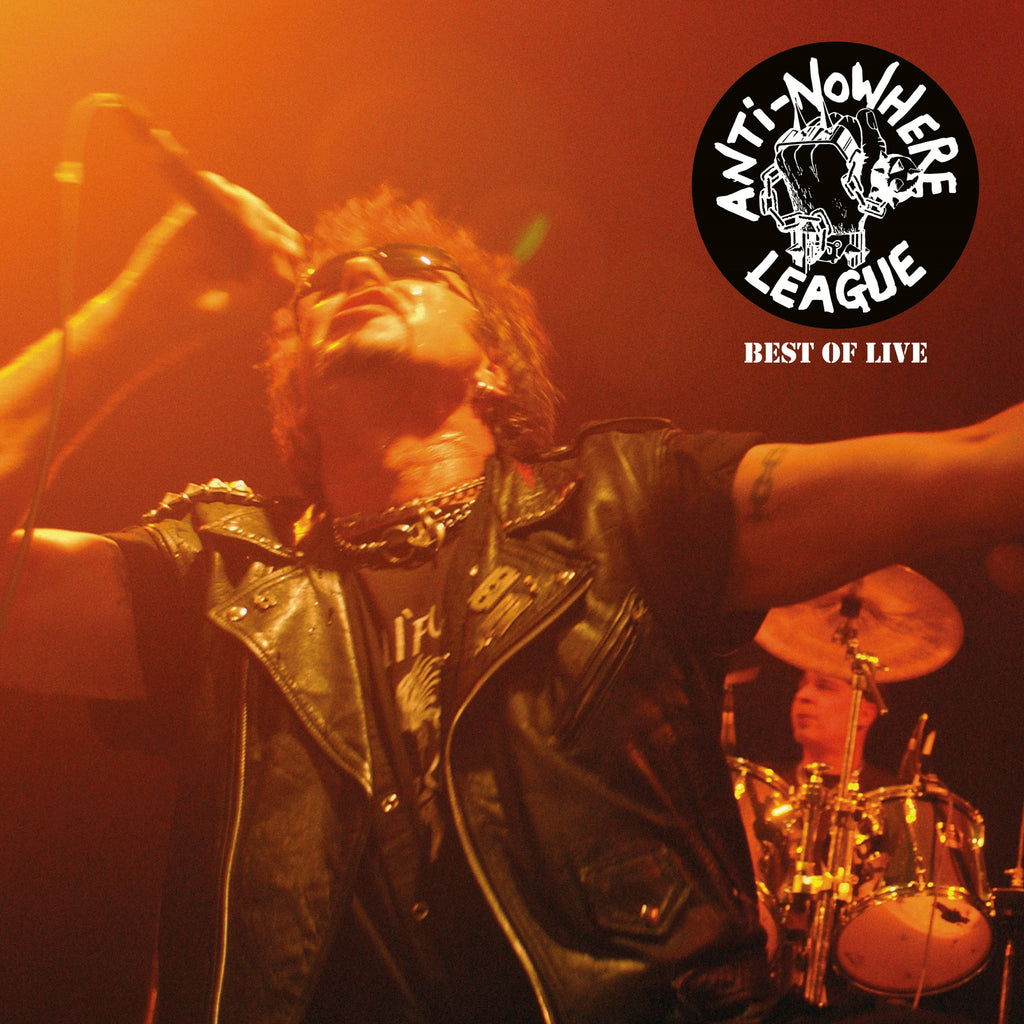 Anti-Nowhere League - Best Of Live - Secret Records Limited