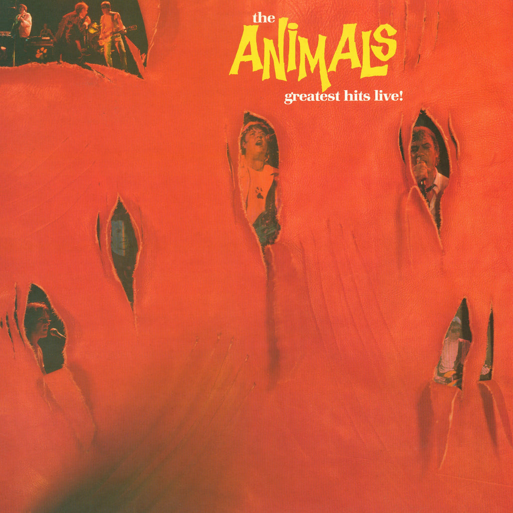 The Animals - Greatest Hits Live - CD Album & Vinyl LP - Secret Records Limited