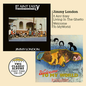 Jimmy London - Welcome To My World + It Ain't Easy Living In The Ghetto - CD Album - Secret Records Limited