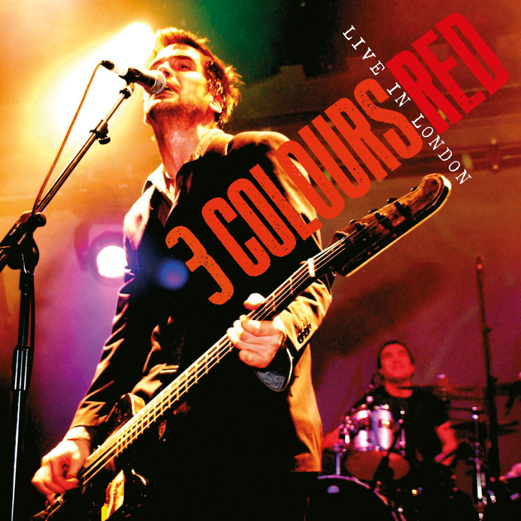 3 Colours Red - Live In London - Secret Records Limited