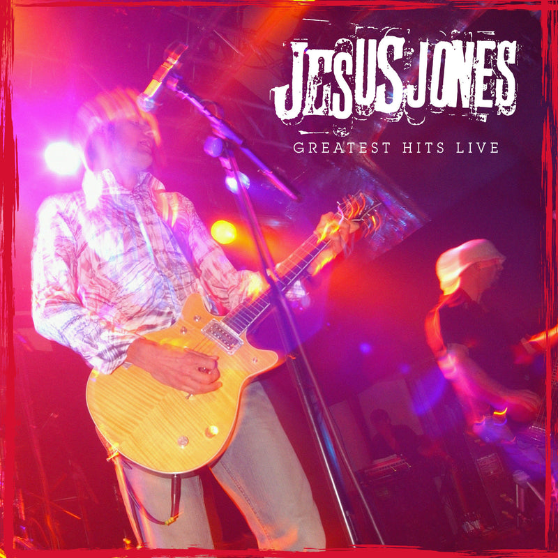 Jesus Jones - Greatest Hits Live - Vinyl LP - Secret Records Limited