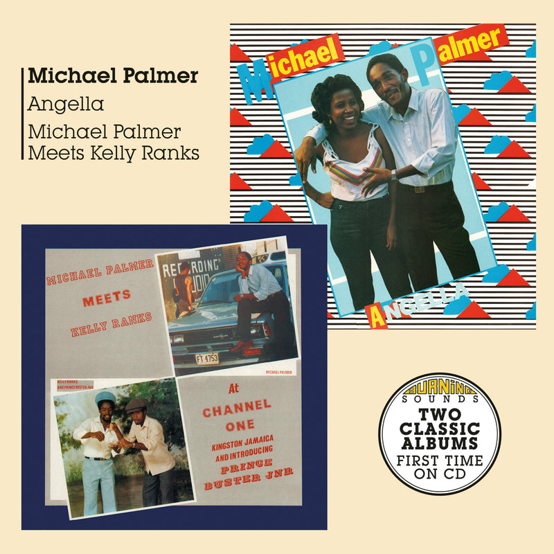 Michael Palmer - Angella + Meets Kelly Ranks At Channel One - CD Album - Secret Records Limited