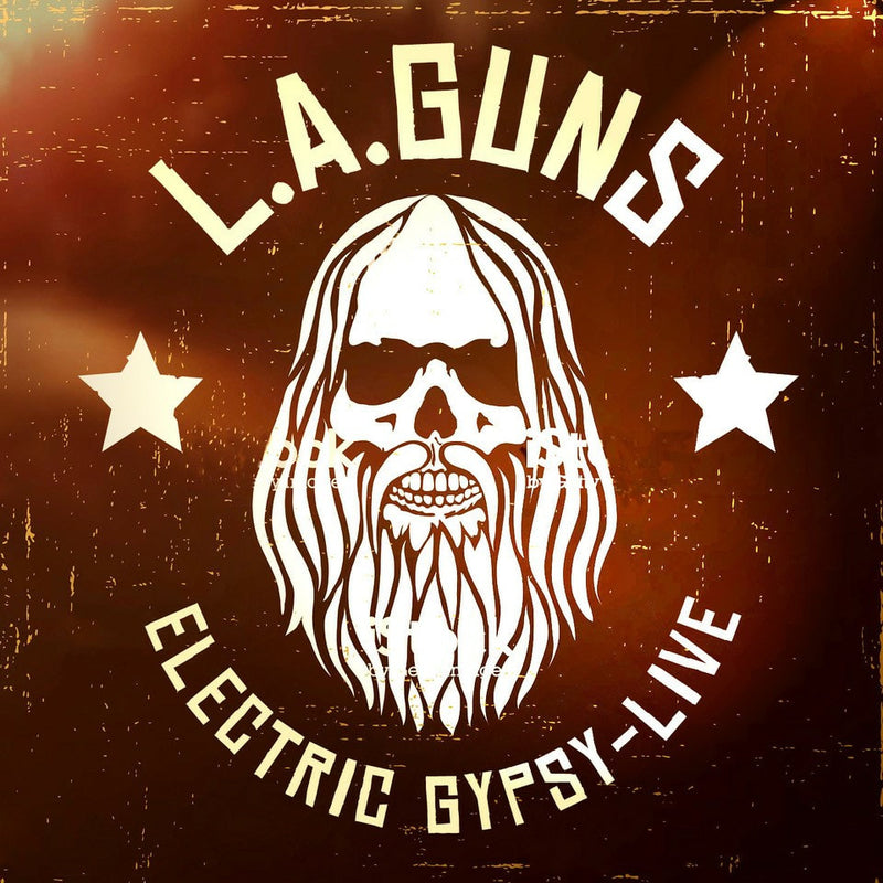 L.A. Guns - Electric Gypsy - CD+DVD Album - Secret Records Limited