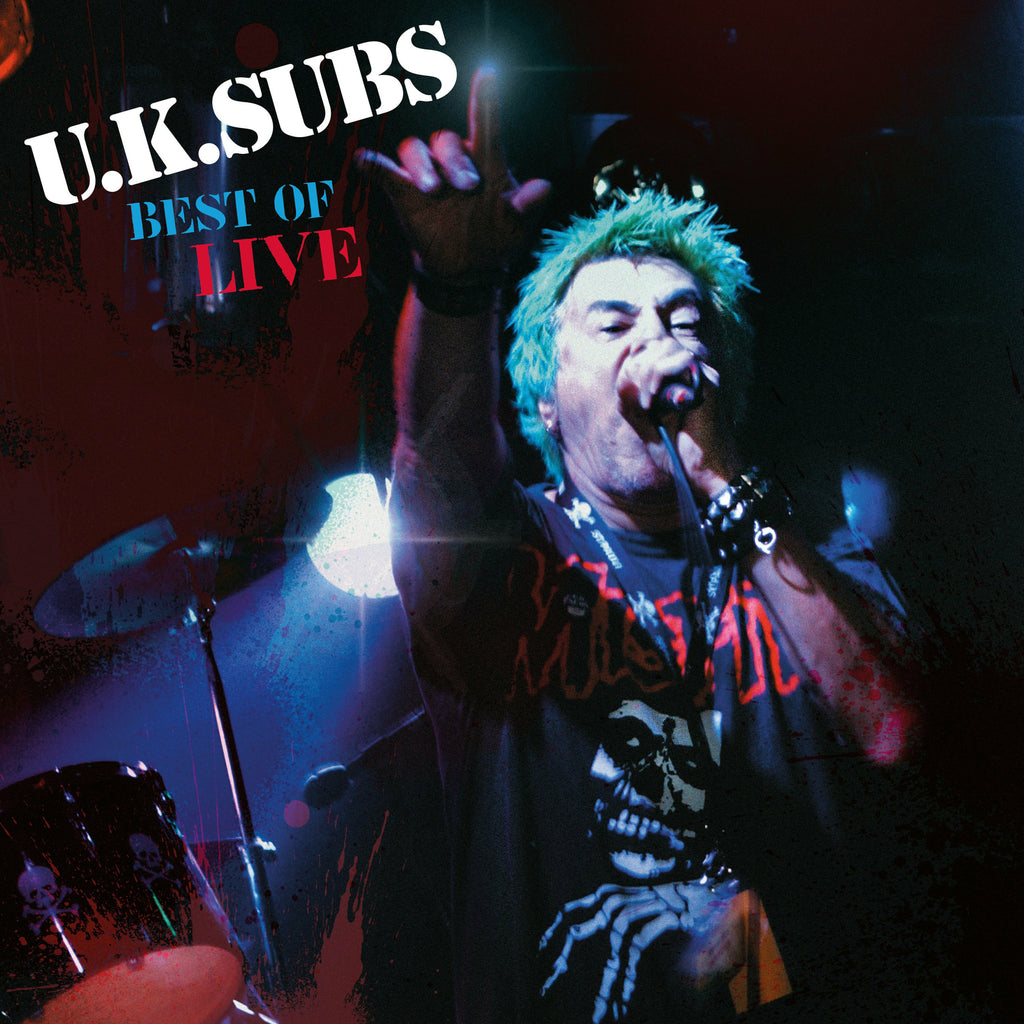 U.K. Subs - Best Of Live - Secret Records Limited