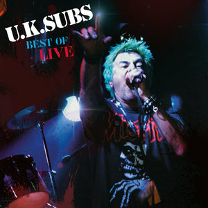U.K. Subs - Best Of Live - Vinyl LP - Secret Records Limited