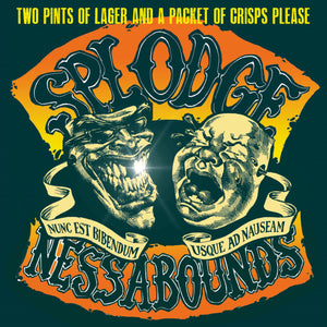 Splodgenessabounds - Two Pints of Lager - CD+DVD Album - Secret Records Limited