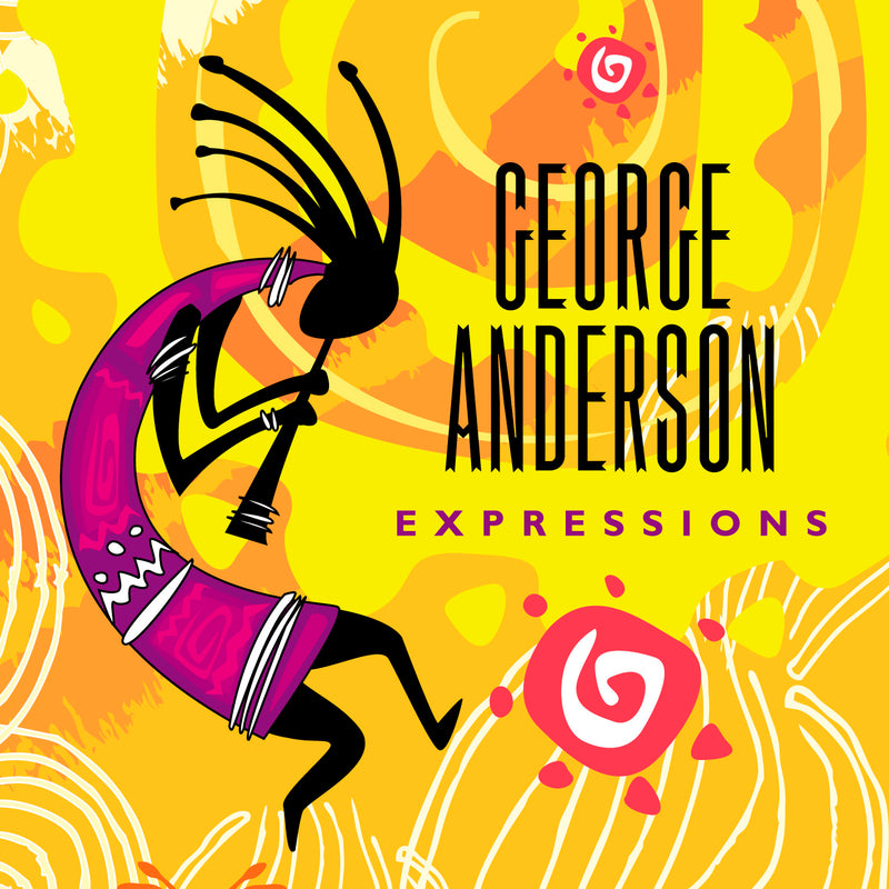 George Anderson - Expressions - CD Album - Secret Records Limited