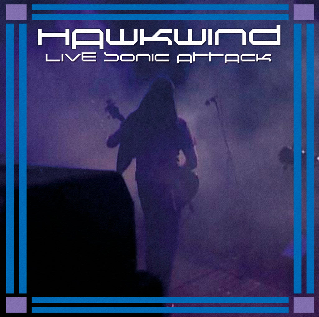 Hawkwind - Live Sonic Attack - 2CD Album - Secret Records Limited