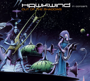 Hawkwind - Out Of The Shadows - CD Album - Secret Records Limited