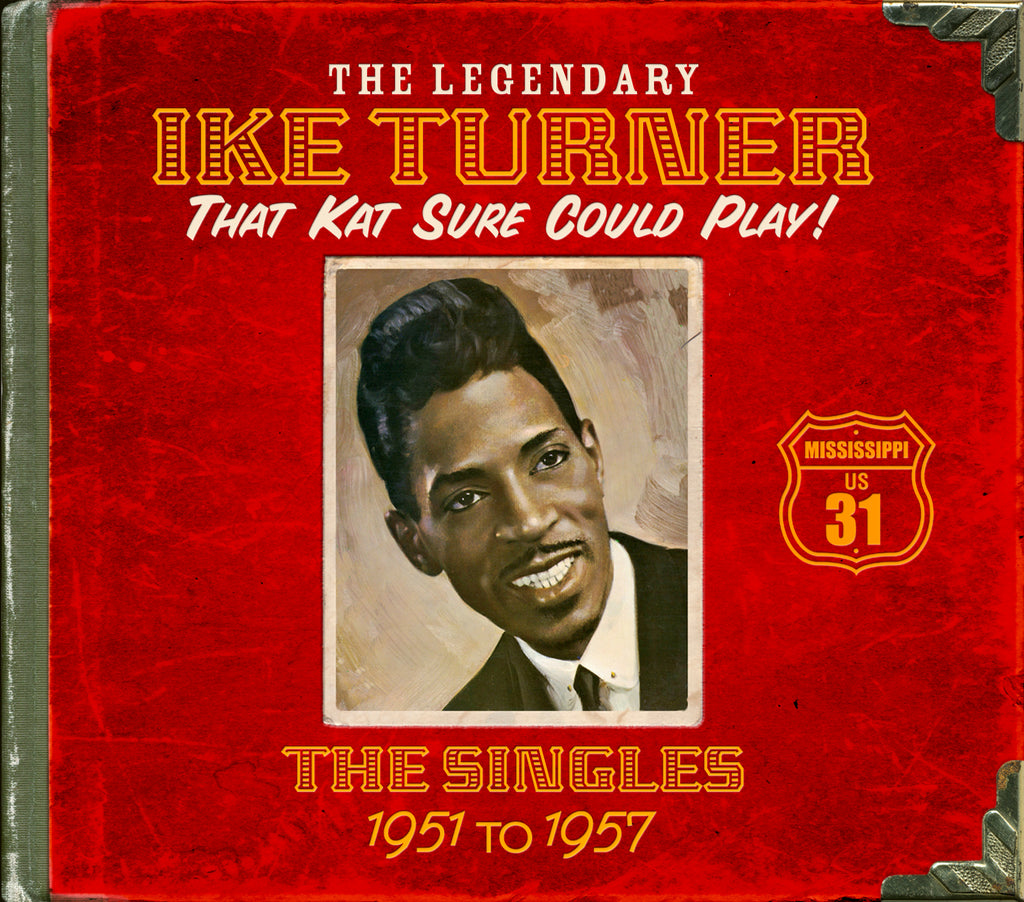 Ike Turner - That Kat Sure Could Play! - 4CD Album - Secret Records Limited