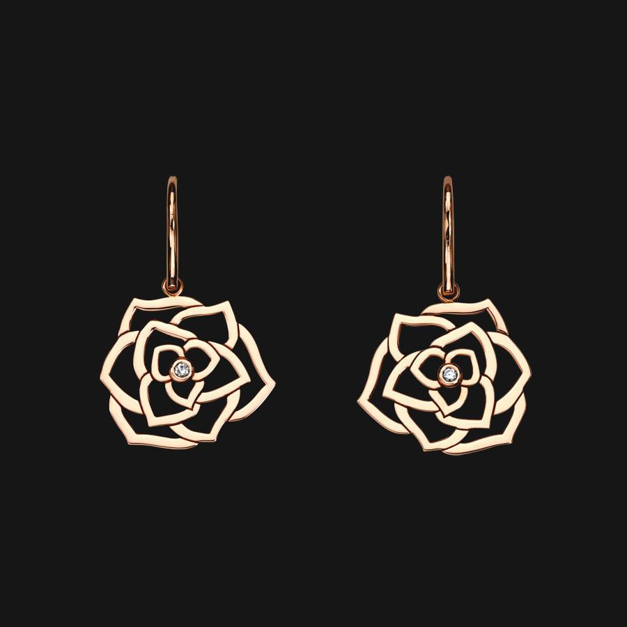 14k Wire Bloom Earrings