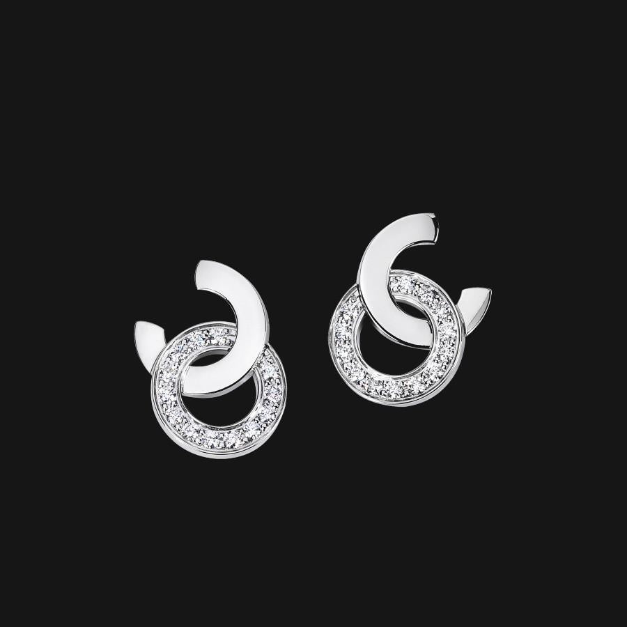 18k Interlinked Earrings