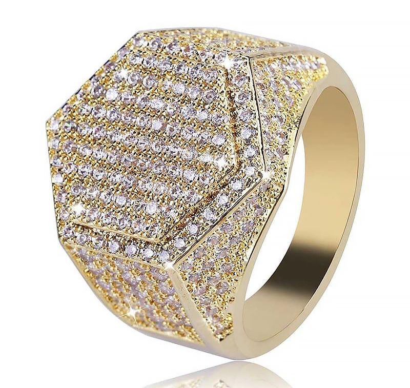 RoyalRichte™ Iced Out Ring.