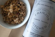 Franjo's Kitchen Tanker Topper Muesli - Date, Walnut & Maple